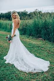 flowing wedding dresses lace wedding dresses 2018 flowing lace dress with a low back from