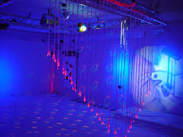 lighting for visually impaired led lights from the ceiling for a multi color waterfall of safe