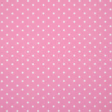 polka dot curtain fabric pink terrys fabrics uk