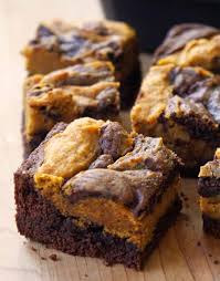 great thanksgiving recipes pumpkin swirl brownies