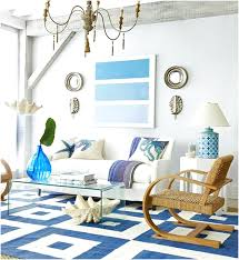 themed living room decor blissfully domestic these beach themed