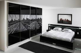 Modern Master Bedroom Designs Pictures Stunning Glossy Black Closet For Modern Master Bedroom Ideas With