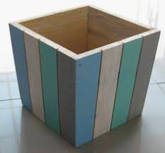 how to make stained wooden trough boxes box craft and woods