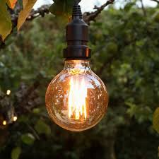 4w e27 dimmable vintage globe filament effect warm white led