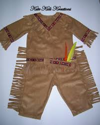 toddler boy u0027s indian costume with headband by kutekidskreations