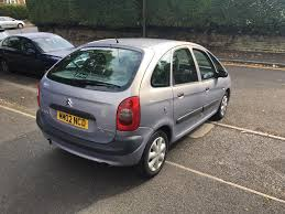 2002 citreon xsara picasso 1 6 sx petrol manual hatchback 12mot