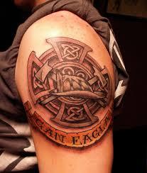 ideas for maltese cross firefighter tattoos