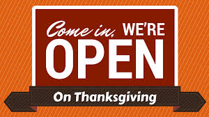b n restaurants open on thanksgiving day 2015 entertainment