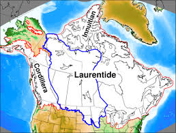 map of america 20000 years ago model of the western laurentide sheet raised beaches