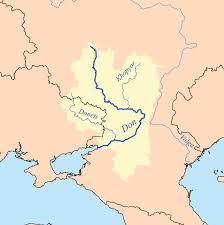 map of europe and russia rivers don river russia