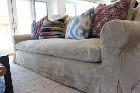 how to make a sofa slipcover washable velvet slipcover slipcovers by shelley