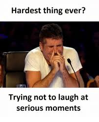 Trying Not To Laugh Meme - hardest thing ever trying not to laugh at serious moments thing