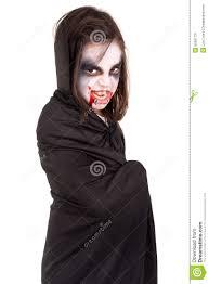 Girls Halloween Vampire Costume Halloween Vampire Costume Stock Photo Image 50367731
