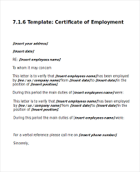 work certificate template 9 free word excel pdf documents