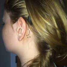 southern cross tattoo behind the ear i want this tattoo so bad i