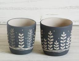 bicchieri in ceramica bicchieri per candela e non memaceramicart