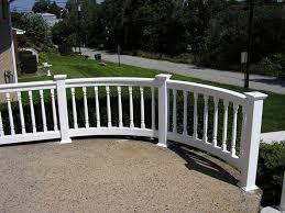 curved railing u2013 bella railings