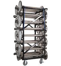 retracta belt post transporter u0026 storage carts queue stanchions