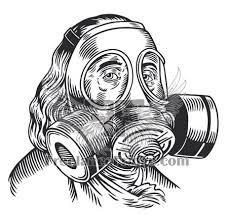 t shirt design ben franklin gas mask freelance fridge