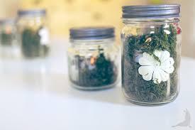 jar centerpieces for baby shower secret garden baby shower
