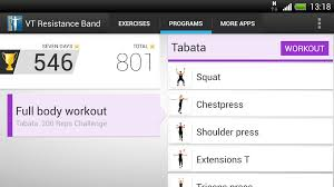 virtualtrainer resistance band android apps on google play