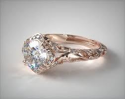 filigree engagement ring diamond filigree engagement ring 14k gold allen