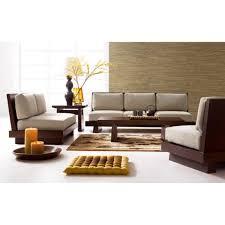 seating sofa low seating sofa 3 2 1 set walnut wooden sofas sofas living room