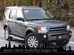 land rover lr3 black used 2006 land rover lr3 se at saugus auto mall
