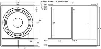 Bass Speaker Cabinet Design Plans 1 Cabinet Which To Build Speakerplans Com Forums Page 2