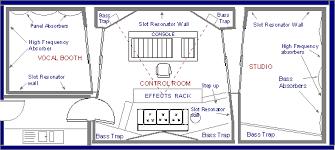 recording studio floor plan variplans