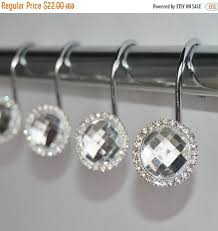 Large Shower Curtain Rings Best 25 Bling Bathroom Ideas On Pinterest Sparkly Tiles Cheap
