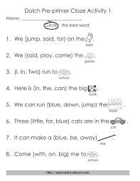 98 best dolch printables images on pinterest sight word