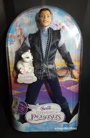 2005 barbie magic pegasus prince aidan ken doll u0026 bobbing