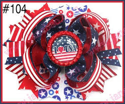 fourth of july hair bows aliexpress buy free shipping 12pcs newest 4th of july hair