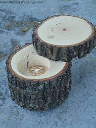 ring holder for wedding rustic 4 weddings rustic wedding ring holder rustic ring box