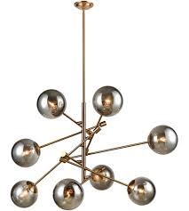 Aged Brass Chandelier Dimond Lighting 1141 082 Accelerated Returns 8 Light 34 Inch Aged