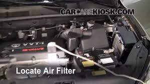 2011 toyota rav4 filter air filter how to 2006 2012 toyota rav4 2007 toyota rav4 2 4l 4
