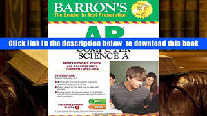 download barron s ap computer science a 7th edition roselyn