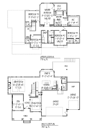 5 Bedroom Floor Plans 2 Story Extraordinary Design Ideas 5 Open Floor Plans One Level Homes Plan
