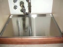 kitchen sink leaking underneath under sink tray kitchen sink leaking underneath plus under kitchen