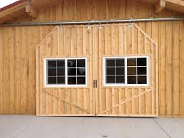 Sliding Horse Barn Doors by Horse Stalls
