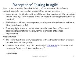 acceptance testing in agile what does it mean to you u0027 by fran o u0027h u2026