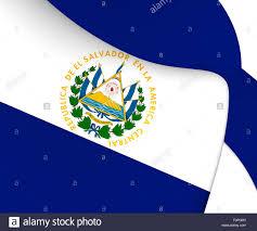 Flag El Salvador Flag Of El Salvador Close Up Stock Photo Royalty Free Image