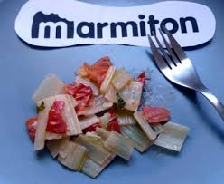 cuisiner blettes marmiton côtes de blettes à la tomate recette de côtes de blettes à la