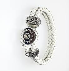 white leather bracelet images Leather bracelets archives elle victoria jewelry jpg