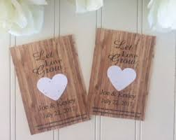 seed paper wedding favors 30 big seed paper sand dollars wedding favors