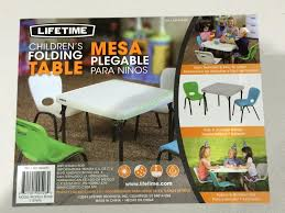 Costco Folding Table And Chairs Brilliant Costco Folding Table And Chairs Lifetime Products Kits
