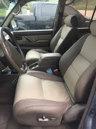 lexus lx450 replacement leather replacing the 2 front seats only should i use l seat or ih8mud