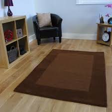 new brown bordered thick wool rugs soft living room carpet rug