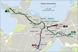 New Orleans Street Car Map by Tallinn Tram System Transportation Maps Pinterest
